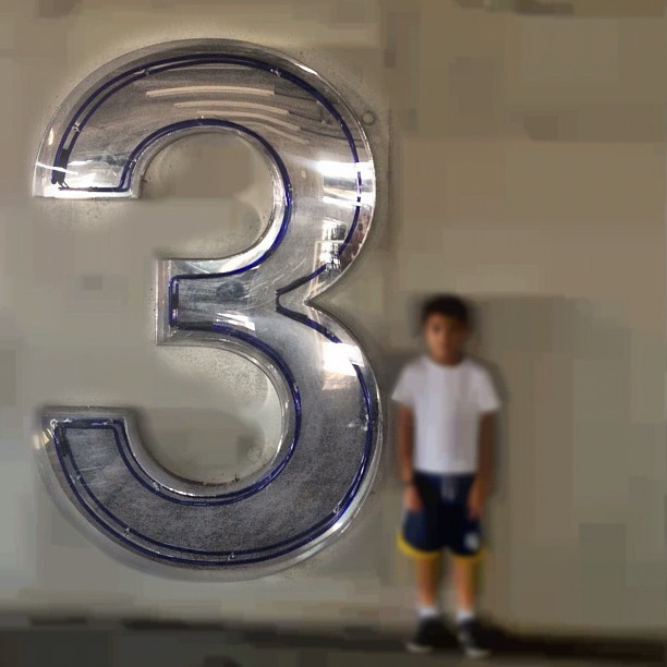 There is a power associated with the number three