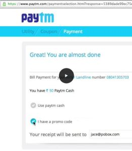 Paytm is trying to take the place of cash in India