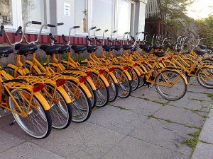 There is a lot of promise to new bike sharing services along with a lot of risk