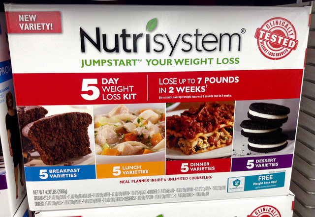 Nutrisystem had the data, they just didn't know what to do with it