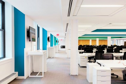 Changes in the workforce have permitted changes in the workspace