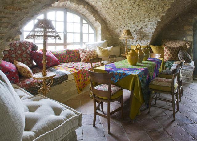 A Provence Garden Fit for A Fairytale #lacarmejane #gardens #provence #clivenichols