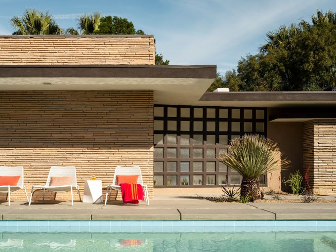 Palm Springs architecture, mid-century architecture, Modernism Week
