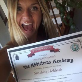 Sunshine Helbstab testimonial for The Addictions Academy