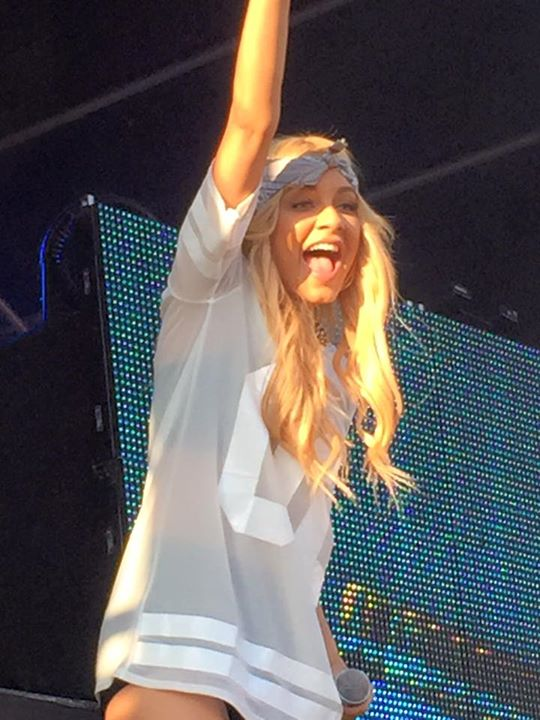 DJ Havana Brown at The Full Moon Festival. Photo Credit: Tony Polese.