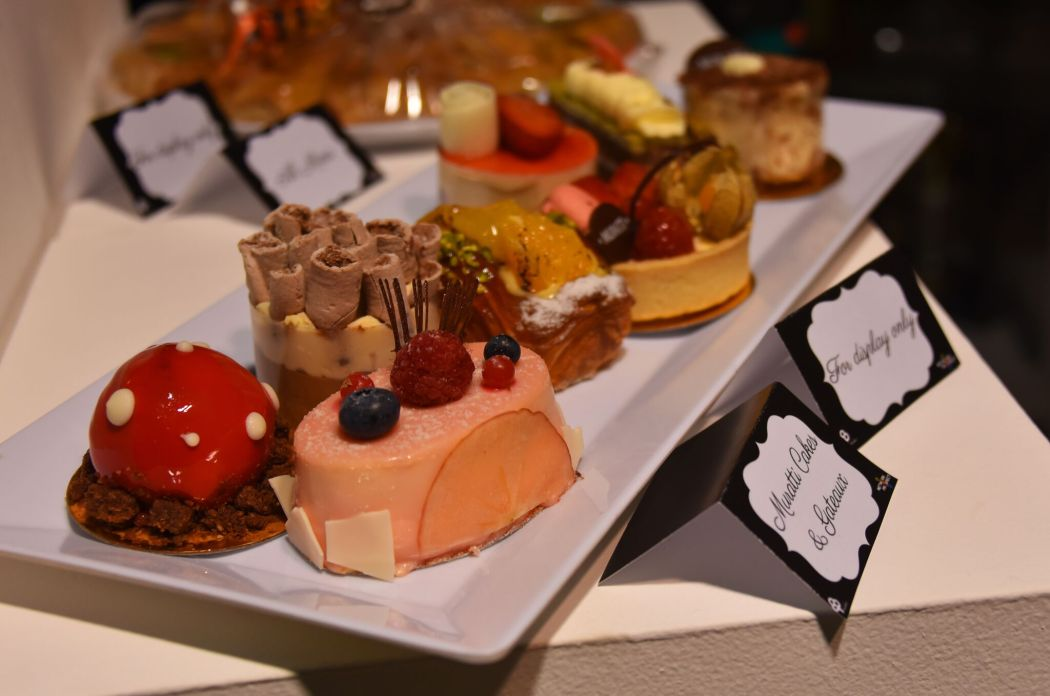 Delectable pastries from Muratti Cakes