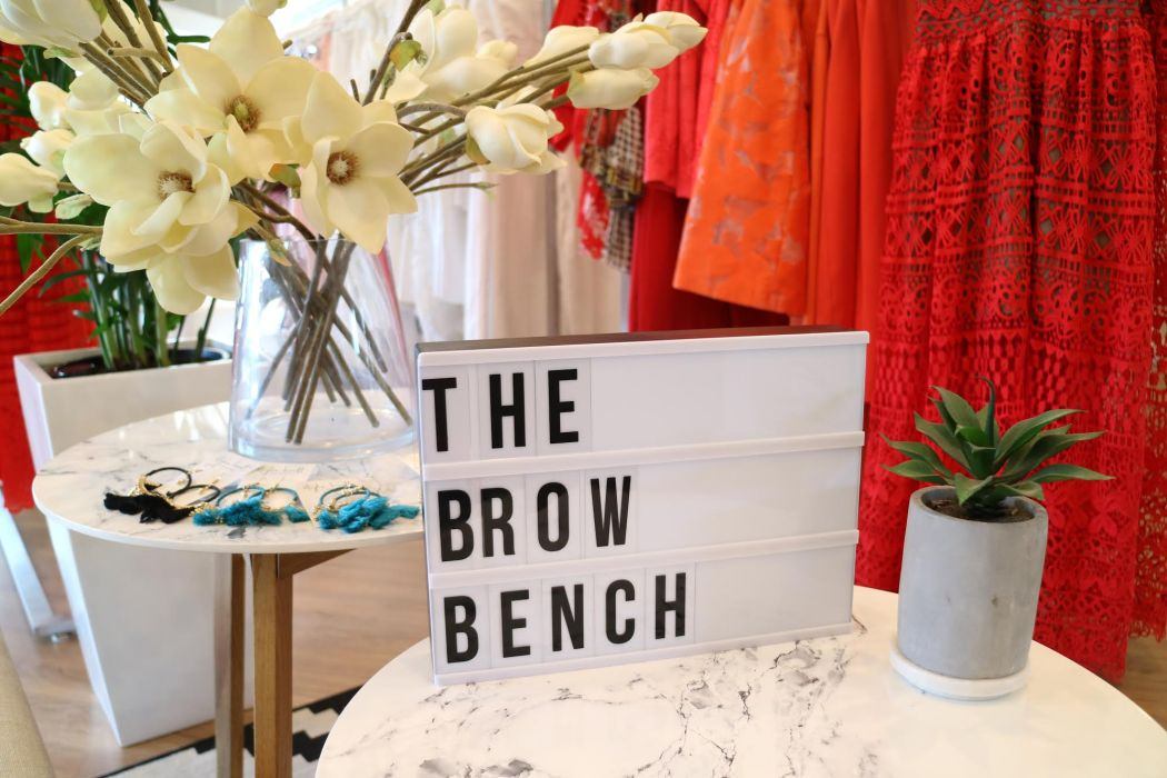 the brow bench