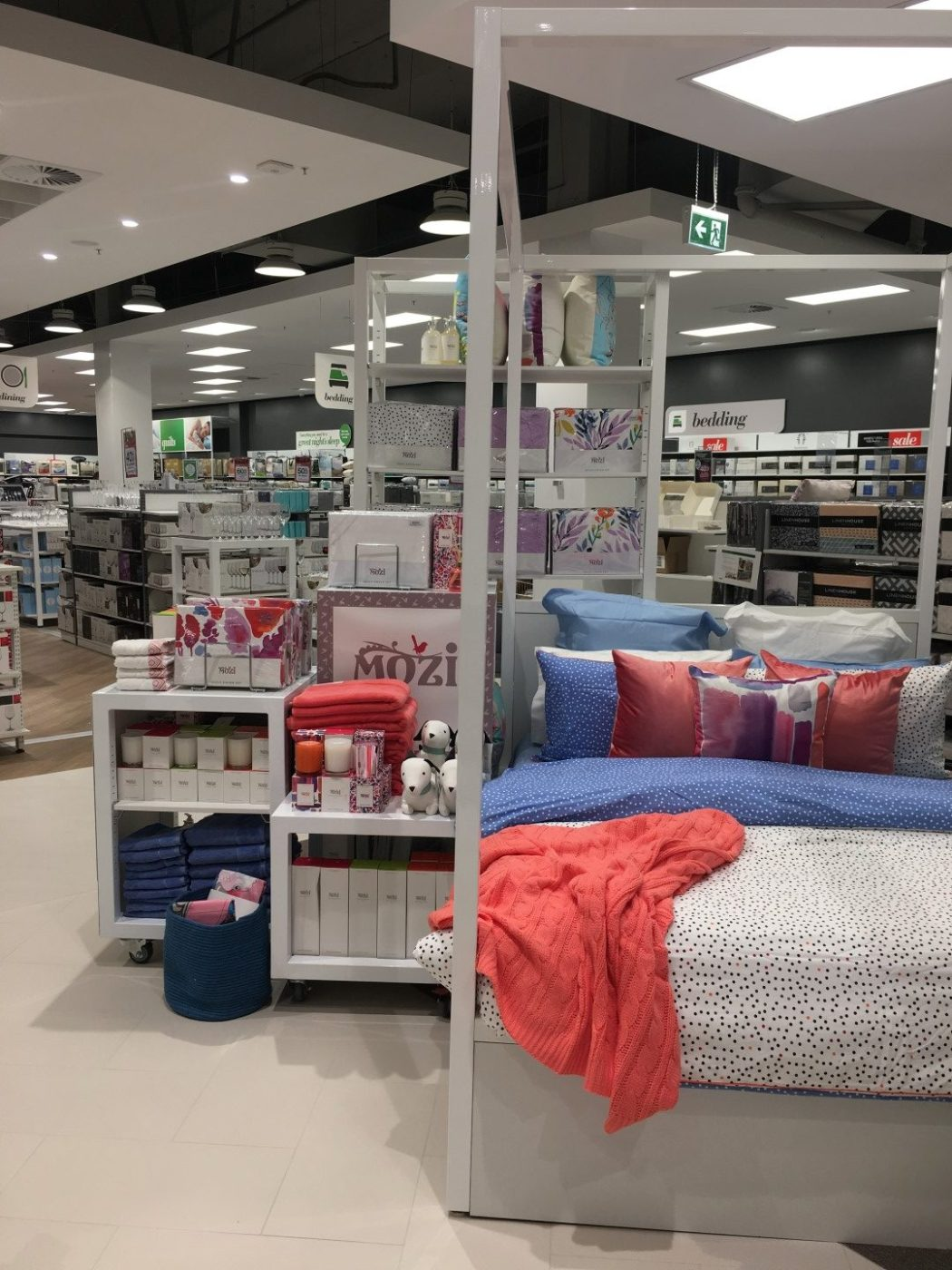 All your home needs at the new Harris Scarfe.