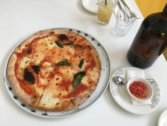 Visit Chicco Palms on 437 Henley Beach Road, or skip the crowd and order some pizza to go on 8352 5699.