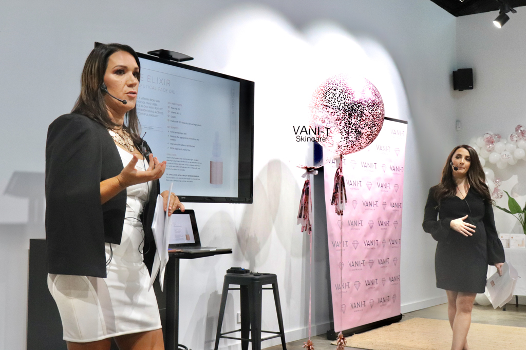 Learning more about beauty and skincare with Vani-T.