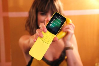 the Nokia 8110 'Banana Phone'