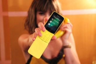 the Nokia 8110 'Banana Phone'