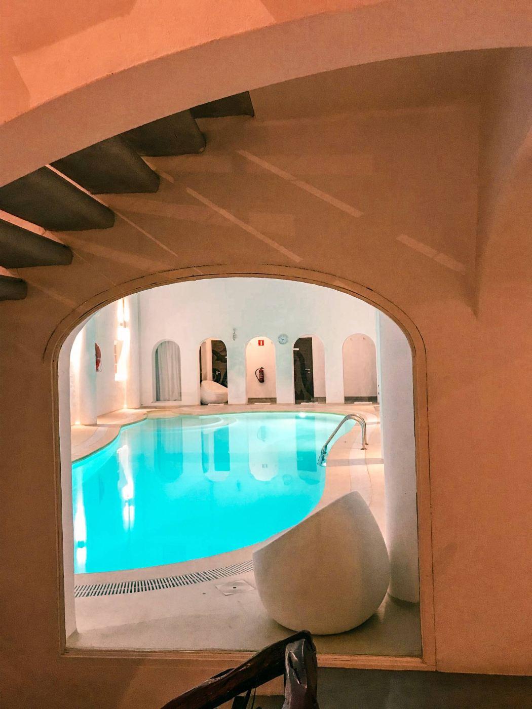 Just one of the many pools at Hacienda Na Xamena