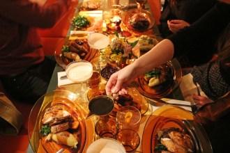 thanksgiving at clutch chicken