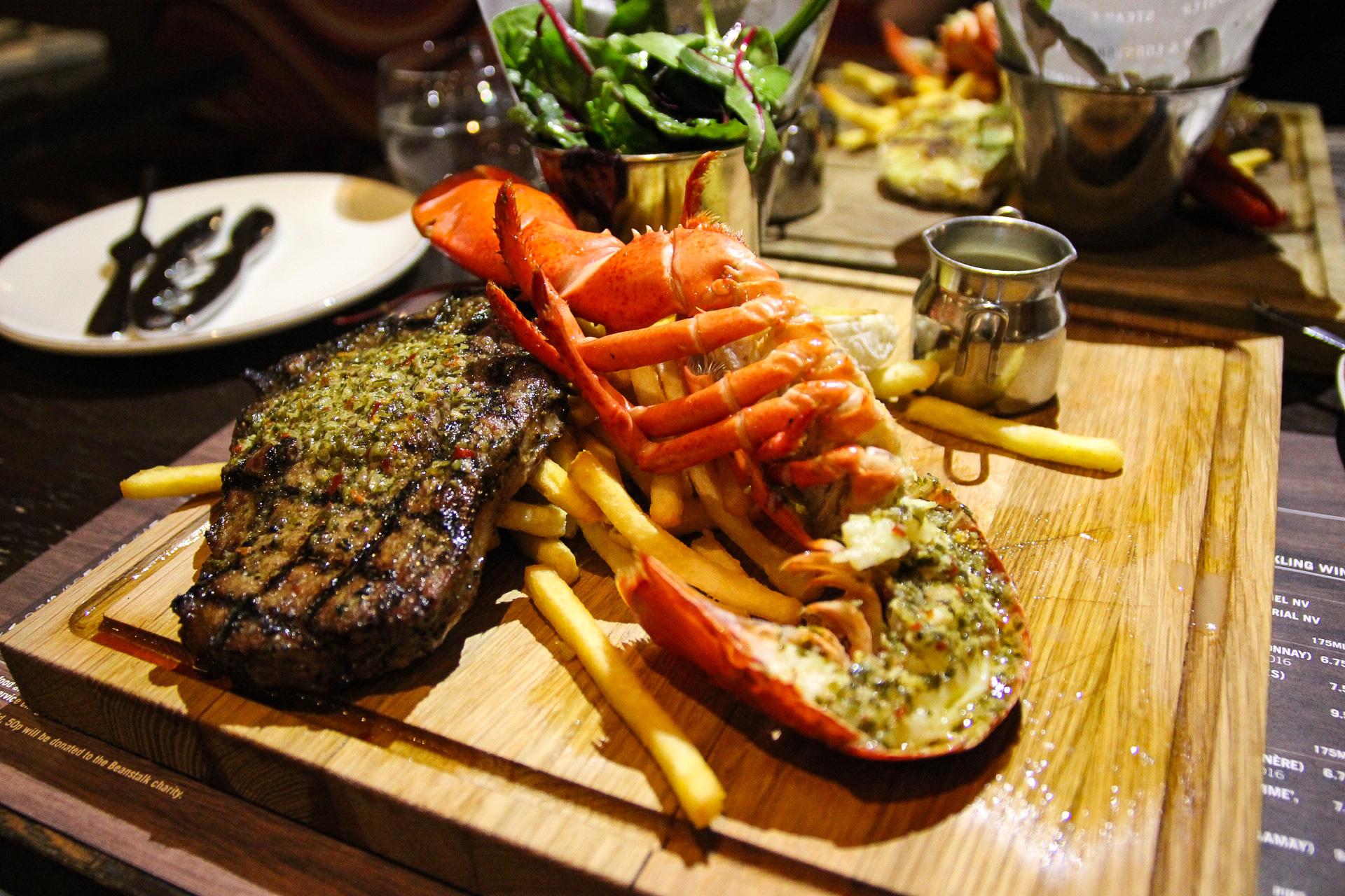 steak and lobster bloomsbury