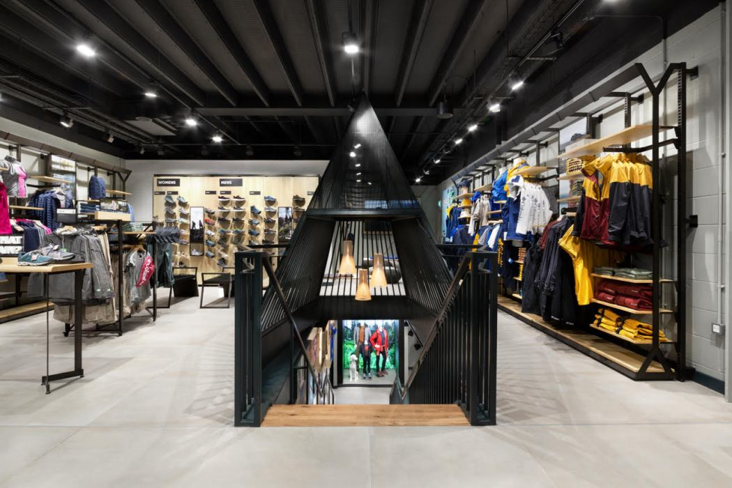 Columbia Flagship store launch on carnaby street soho london