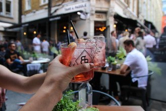 Belsazar Rose and Tonic at Heddon Street Kitchen