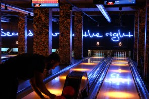 Bowling, burgers and bevvies at Queens