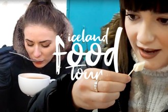 trying icelandic foods in reykjavik