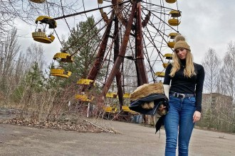 Melissa Zahorujko Chernobyl in Winter