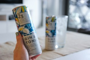 twenty-third st distillery gin and tonic