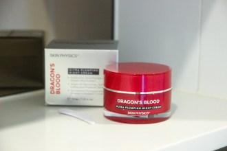 Skin Physics' Dragon's Blood Range