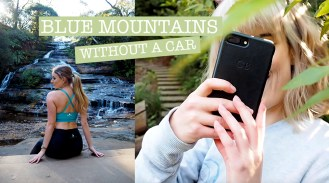 Blue mountains travel vlog