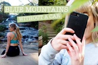 Blue mountains travel vlog