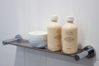 pure haircare precious shampoo and conditioner