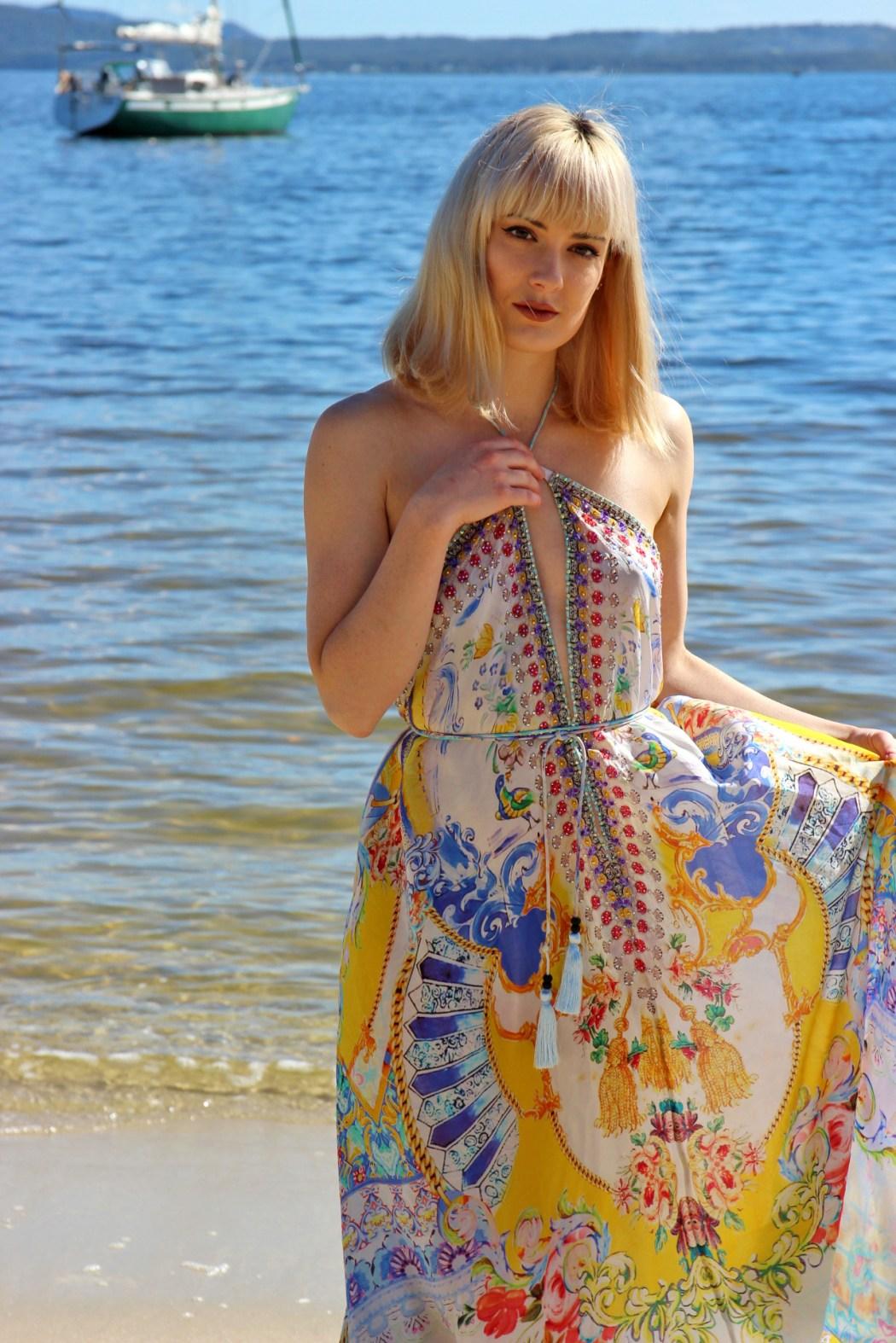 czarina love in santorini 3 way dress