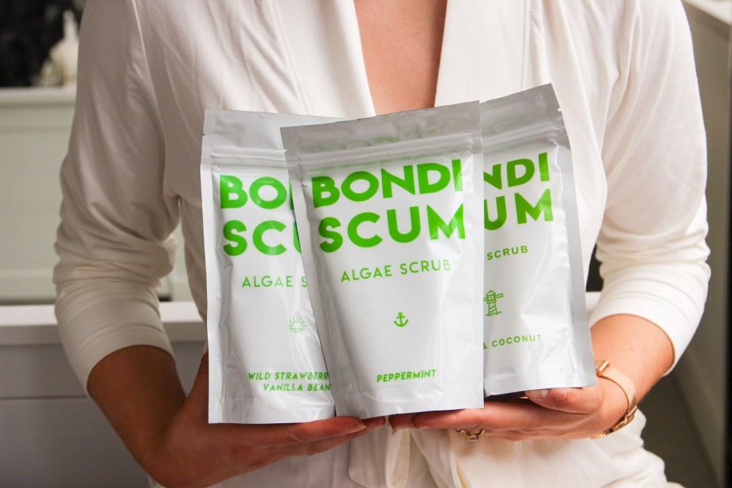 Bondi Scum algae salt scrub