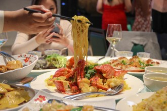 The Panda Yum Cha Lobster Noodles