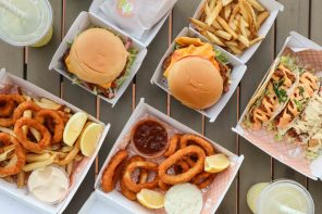 You need to try this crispy burger from Fish & Lemonade