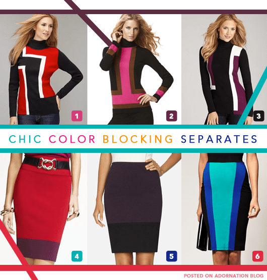 Color Blocking Trend (5/6)