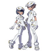 Aether Foundation Employees. Image from Pokemon Sun and Pokemon Moon website.