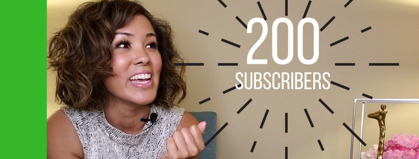 How to get 200 subscribers in 5 months