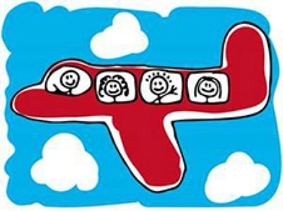 family-plane-cartoon