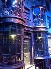 Harry Potter Studio Tour London Diagon Alley Olivander's wands image