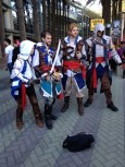 Wondercon 2014 cosplay Assassins Creed