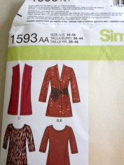 Simplicity lady's tunic shirt pattern