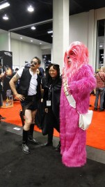 Star Wars Celebration Anaheim 2015 funny cosplay Reno 911 Han Solo, pink Chewie, lady Vader