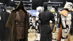 Star Wars Celebration Anaheim 2015 Jedi and Sith costume props