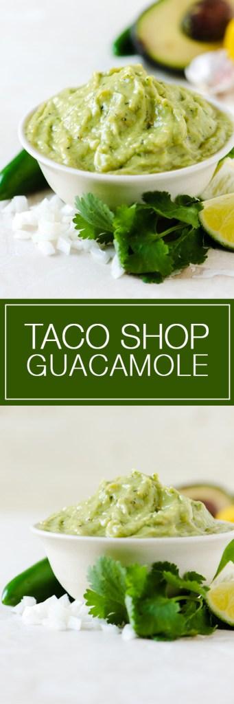 Taco Shop Guacamole