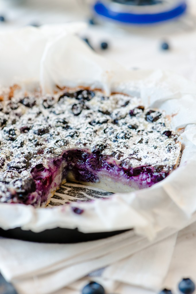 The Adventures of Bob & Shan - Blueberry Clafoutis