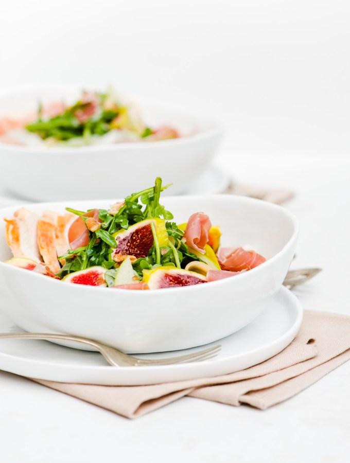 Fig, Prosciutto & Melon Salad