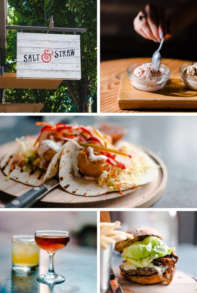 Visiting Salt & Straw, and Tasty N' Alder in Portland