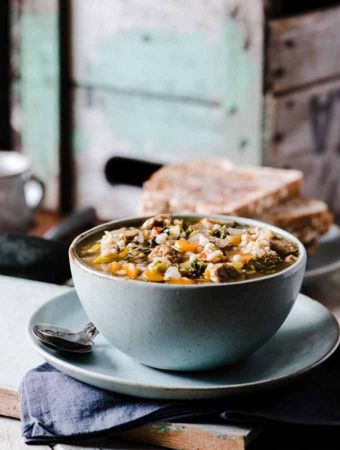 Tuscan Barley Soup