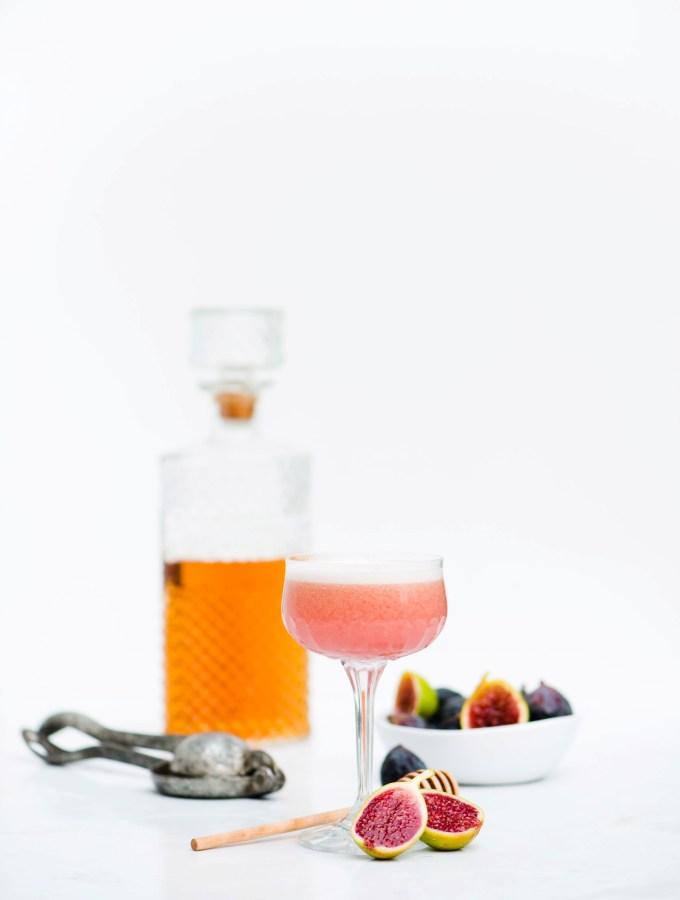 Fig & Bourbon Sour