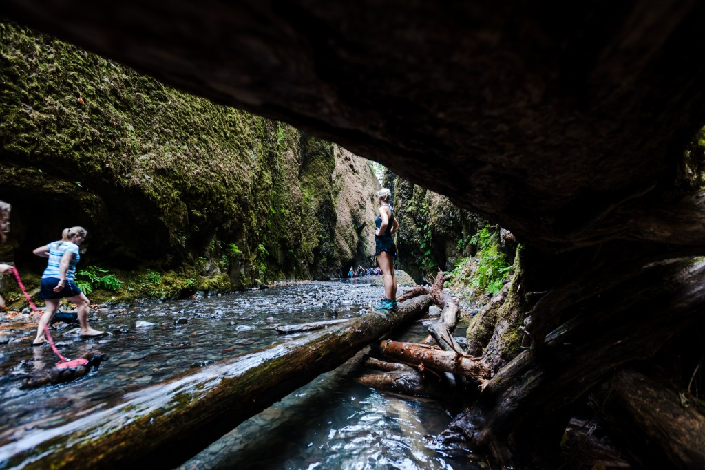 Oneonta Gorge, Portland, Oregon.