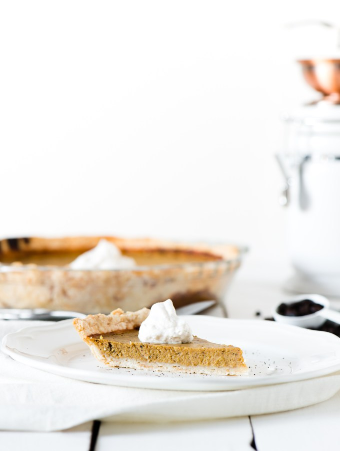 Pumpkin Coffee Pie